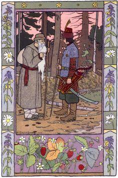 Ivan Bilibin Russian fairy tale Frog Tsarevna