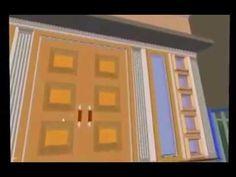 Animasi Desain Rumah Type 72  (8 x 9) bertingkat untuk renovasi