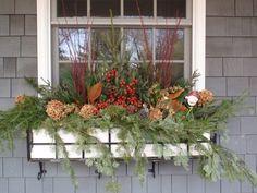 window box for winter