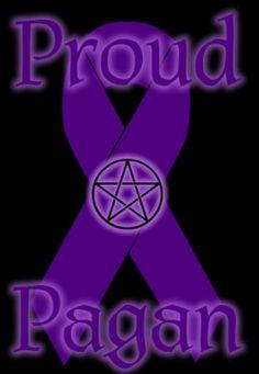 Proud Pagan  #pagan #wicca