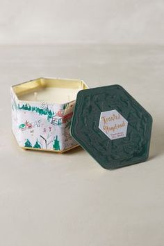 Tin Type Candle #Anthropologie