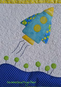 Space Rocket Seams Sew Together