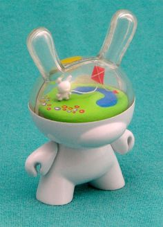 @kronikle.kidrobot DIY Dunny. LOVE IT! WANT IT! by linda I love all bunny