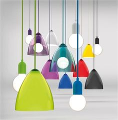 Nordlux Funk Pendant Kit with cable, ceiling rose, and lampholder in matching color (different colors) White Pendant Light, Glass Pendant Light, Pendant Lighting, Glass Pendants, Glass Lights, Mini Pendant, Light Fittings, Light Fixtures, Ceiling Rose