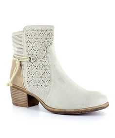 Another great find on #zulily! Antique Gold Bow Boot #zulilyfinds