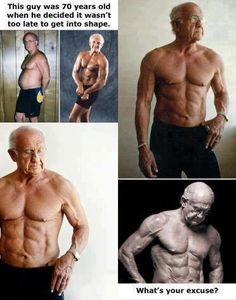 and here I was thinking 41 is old to be trying to get in better shape!