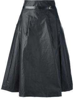 Toga Pulla Laminated Midi Dress - Feathers - Farfetch.com