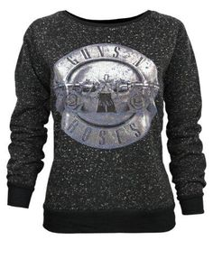 Damen - Amplified Clothing - Guns N Roses - Pullover (M) #sweater #women #covetme #amplifiedclothing