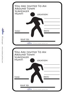 49 Best Free Scavenger Hunt Ideas and Printables images