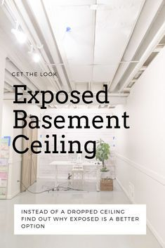 5 Considerations for an Exposed a Basement Ceiling with Pictures 5 Considerations for an Exposed a Basement Ceiling with Pictures Saws Hub DIY Wood Projects saws hub Home Repair Fix nbsp hellip - Bathroom Flooring Unfinished Basement Ceiling, Industrial Basement, Basement Flooring, Basement Bathroom, Basement Ceilings, Soundproof Basement Ceiling, Unfinished Basements, Bathroom Flooring, Bathroom Ideas