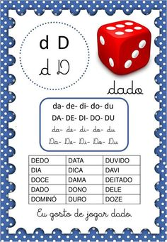 Paula Batista's media content and analytics Portuguese Lessons, Learn Portuguese, Teaching, Prints, Download, Bingo, Reading Activities, Word Reading, Preschool Literacy Activities