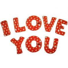 ΜΠΑΛΟΝΙ FOIL «I Love You» - ΚΩΔ.:207170-BB Love You, My Love, Symbols, Letters, Te Amo, Je T'aime, Letter, I Love You, Lettering