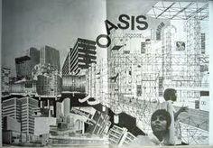 ARCHIGRAM_Oasis, Right Side © Ron Herron, Archigram 1968