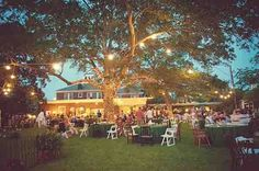 Backyard Wedding- I could make this all REALLY affordable by doing this at home... I mean, I DO have 3 acres... I could just invest in one of those neat gazebos (which I've always wanted) and do all the decor myself... sounds like a good idea....