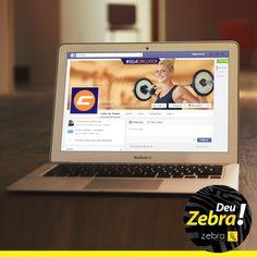 Fanpage da Academia Circuito - Presidente Prudente. #Zebra #cartão #identidade #visual #publicidade #mkt #marketing #cores #propaganda #comunicação #agência #DeuZebra #job #mídiasocial #fanpage