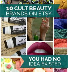 10 Cult Beauty Brands On Etsy You Had No Idea Existed