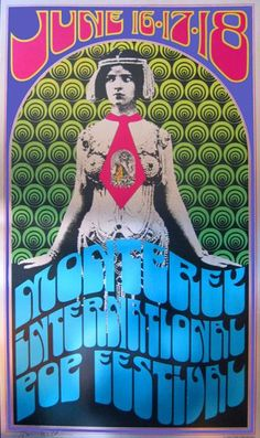 monterey pop festival, 1967