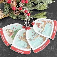 Christmas Gift Tags, Christmas Crafts, Mama Elephant Stamps, Happy New Year, Pop Up, Gifts, Presents, Popup, Favors