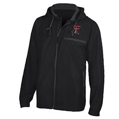 NCAA Texas Tech Red Raiders Venture Jacket, Black, XX-Large