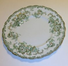 "J & G Meakin 10"" Dinner Plate Long Branch Pattern Circa 1890"