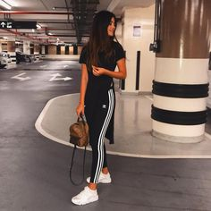 19 Best Adidas leggings outfit images | Sporty outfits
