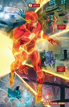 The Flash (2016) Issue #15 - Read The Flash (2016) Issue #15 comic online in high quality