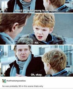Thomas Brodie-Sangster ~ love actually