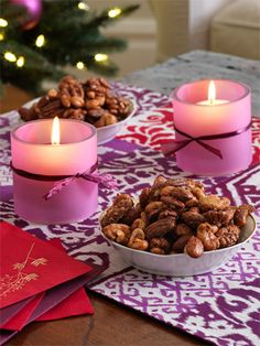 Christmas Table Decoration Ideas - Dinner Table Decoration - Woman's Day