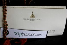 MUMBAI - TripFiction pops up at the Taj Mahal Palace .... Choose your next top read by location, a good story enables you to get under the skin of a place www.tripfiction.com