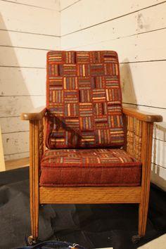 morris chair 2 - stripes