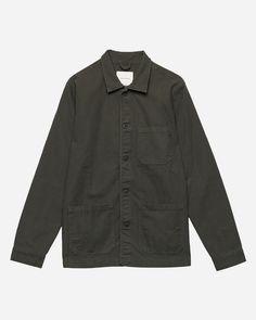 Original Overshirt - Herringbone Formal Looks, Herringbone, Work Wear, Menswear, Shirt Dress, Blazer, The Originals, Sweaters, Fashion Styles