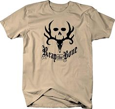 Reap the Bone Archery Bow Hunting Bone Collector Mens T Shirt - Large - Brought to you by Avarsha.com