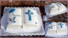 Kommuniontorte Junge Cake first Holly for boy