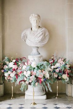WedLuxe – A Dream-Like French Château Wedding | Photography By: Greg Finck  Follow