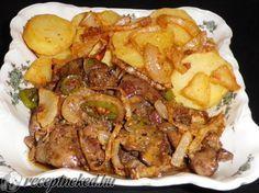 A legjobb Csípős pirított csirkemáj, sült krumpli és sült hagyma recept fotóval egyenesen a Receptneked.hu gyűjteményéből. Küldte: Békefi Rita