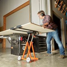 Handle Panels With Ease From Truck to Table Saw