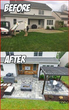 Backyard Seating, Small Backyard Patio, Backyard Patio Designs, Pergola Patio, Diy Patio, Patio Stone, Budget Patio, Flagstone Patio, Patio Privacy