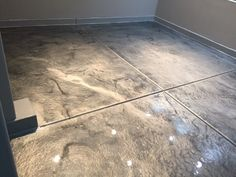 Lava Flow Metallic Epoxy Flooring