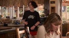 Tee shirt black worn by Casey Gardner (Brigette Lundy-Paine) in Atypical worn by ( in Casey Atypical, Brigette Lundy Paine, Barbie Ferreira, I Have A Crush, Calvin Klein Black, Pretty People, Tv Shows, Vintage Outfits, Celebrities