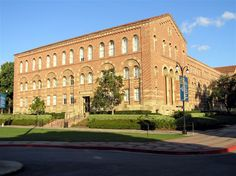 Haines Hall, UCLA.  Home of the anthropology department.