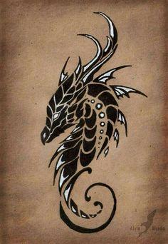 Tête dragon
