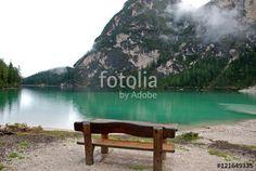 """Scarica l'immagine Royalty Free  """"Braies Lake on Dolomiti Mountains in Italy, """" creata da LotusFlower al miglior prezzo su Fotolia . Sfoglia la nostra banca di immagini online per trovare la foto perfetta per i tuoi progetti di marketing a prezzi imbattibili!"""