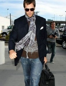 I strongly dislike Tom Brady but the guy has style, that much I will concede.