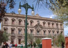 Chihuahua City Mexico   Government Palace in Chihuahua