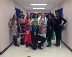 Book Character dress up day ...  Wizard of Oz theme  #teacher #costumes