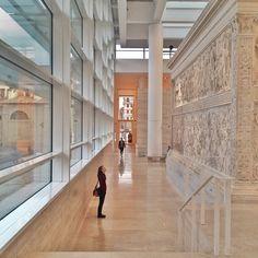 Ara Pacis Augustae, Roma. Lazio #musei #invasionidigitali