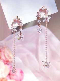 Jewelry Design Earrings, Ear Jewelry, Cute Earrings, Cute Jewelry, Jewelry Accessories, Jewlery, Fancy Jewellery, Stylish Jewelry, Fashion Jewelry