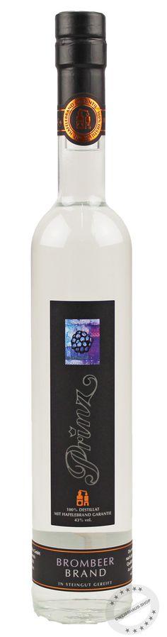 Prinz Hafele Brombeere Edelbrand Vodka Bottle, Packaging, Blackberries, Ideas, Pictures, Wrapping