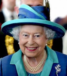 Queen Elizabeth, June 25, 2015 in Angela Kelly   Royal Hats
