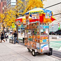probably would not eat from one of these today but up until 90's...it was a treat to have a hot dog, honey roasted nuts or a pretzel.